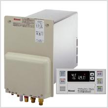 リンナイ製壁貫通型ガス給湯器 8.2号オートタイプ 工事費込パック