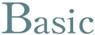 Basic (ベーシック) シリーズ クリアミッドグレー