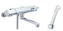 LIXIL製 サーモスタット付シャワーバス水栓 クロマーレシリーズ