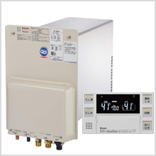 リンナイ製壁貫通型ガス給湯器 エコジョーズ16号フルオートタイプ 工事費込パック