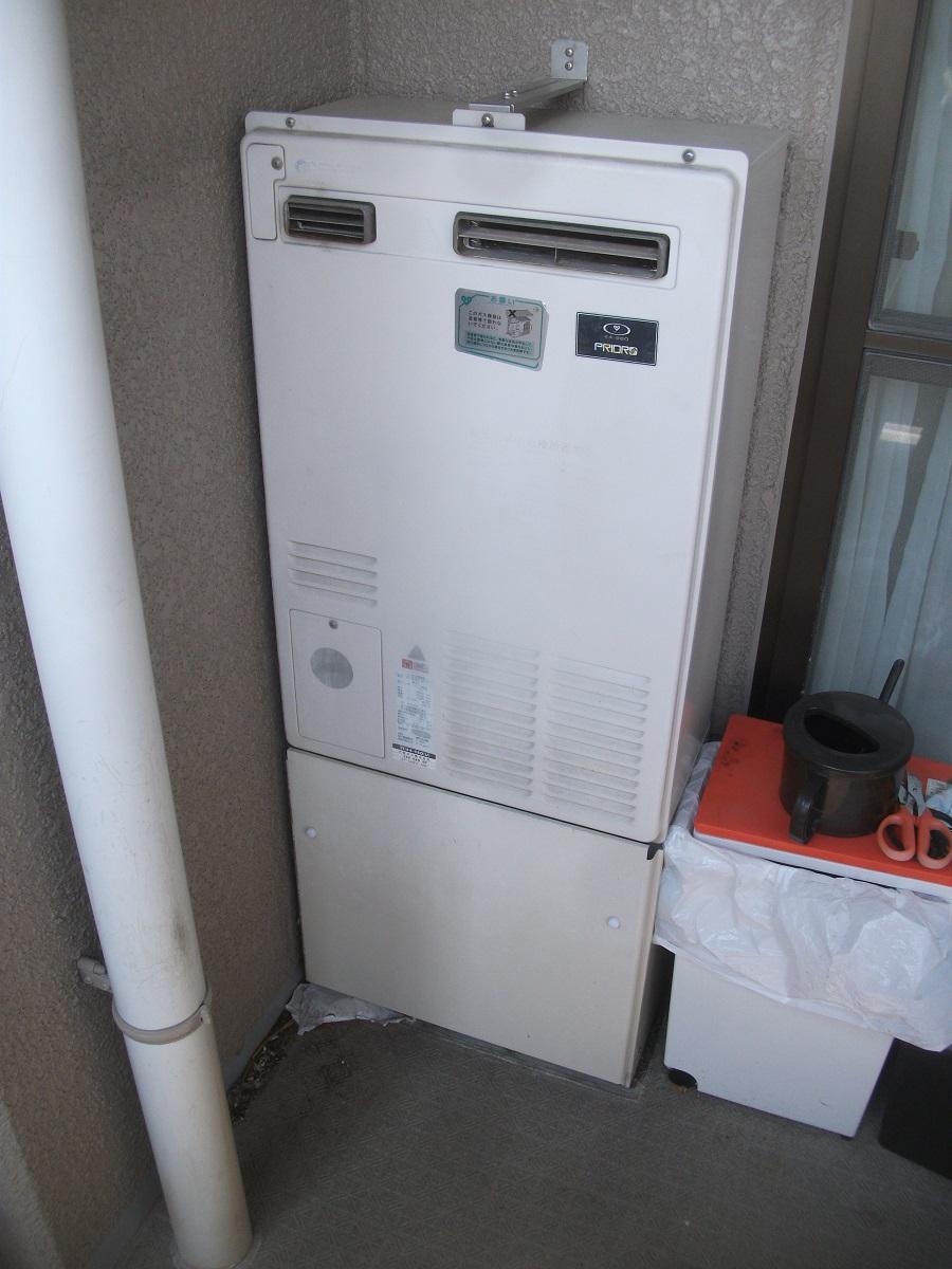 暖房機能付き給湯器の交換(大阪府高槻市)
