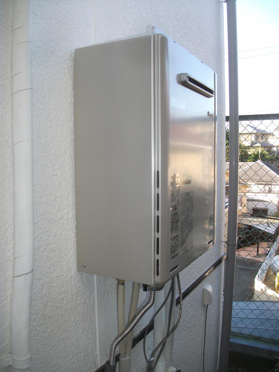 ガス代の節約に!追い焚き機能付き給湯器への交換(大阪府 寝屋川市)