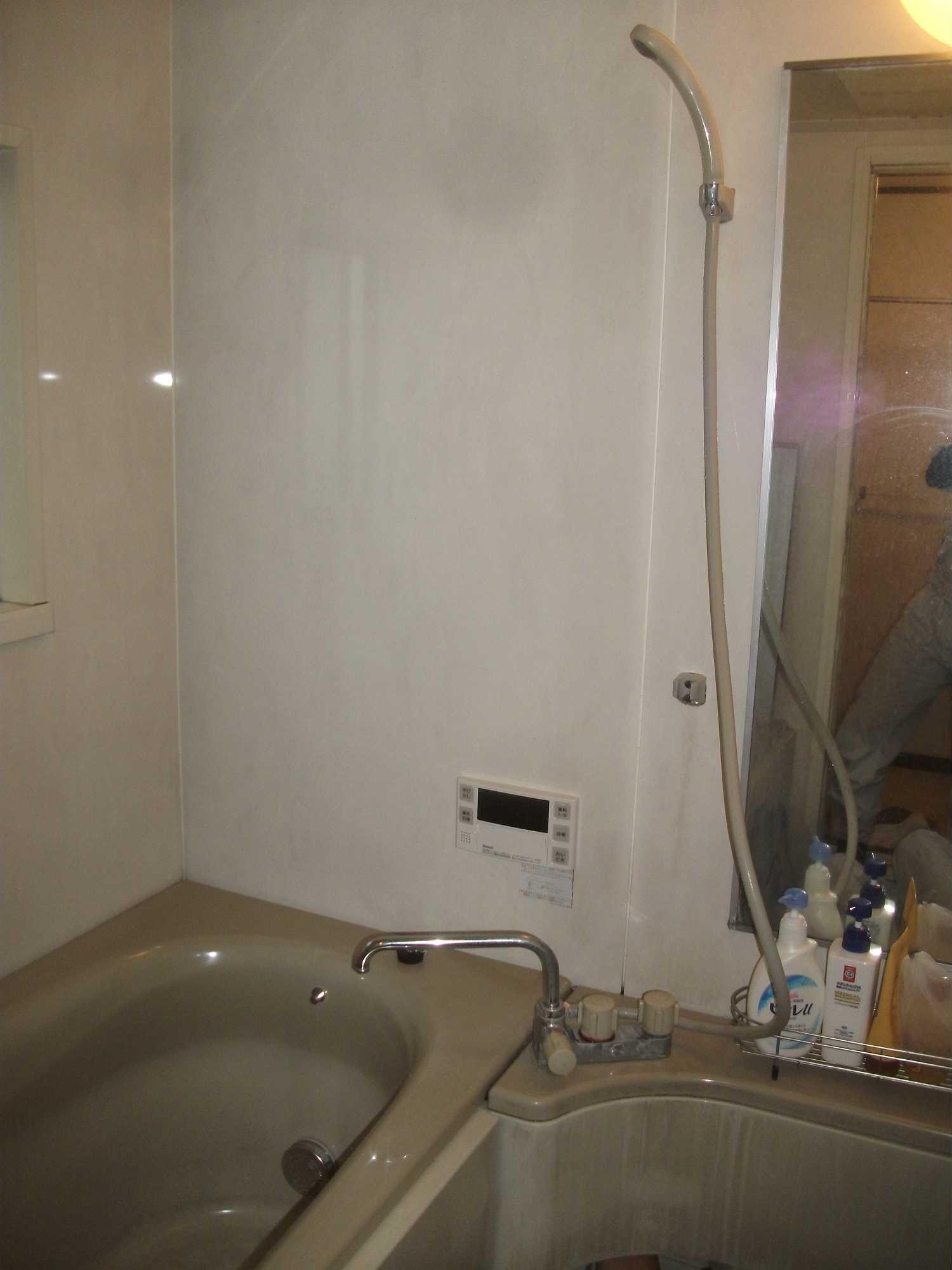 自動湯はりの故障。給湯器交換事例(大阪府)