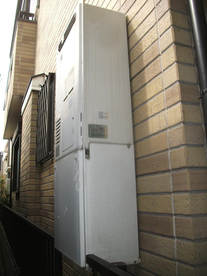 ノーリツ製暖房機能付きガス給湯器への交換 枚方市 N様邸