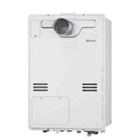 従来型 リンナイ製ガス温水暖房付ふろ給湯器 PS扉内設置