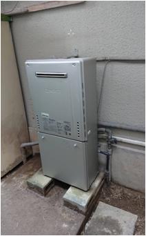 大阪ガスからノーリツエコジョーズ24号据置タイプ