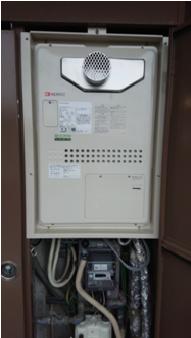 ノーリツ暖房機能付 PS扉内設置