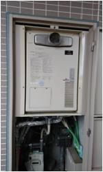 リンナイ暖房付ガス給湯器24号フルオートPS設置タイプ